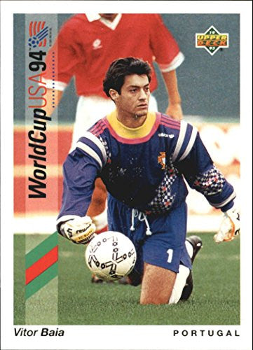 1993 Upper Deck World Cup 94 Preview English/Spanish #88 Vitor Baia