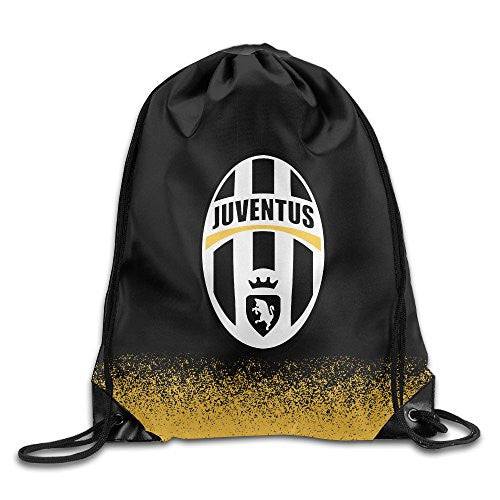 Juventus F.C. Waterproof Nylon Drawstring Bag