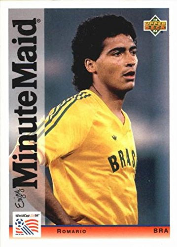 Romario trading card (Soccer) 1994 Upper Deck Minute Maid World Cup #5