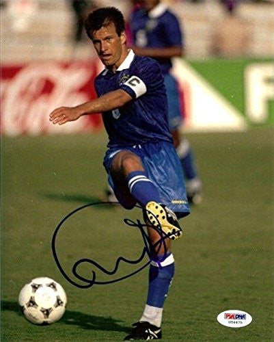 Signed Dunga Photograph - Authentic 8x10 - PSA/DNA Certified - Autographed Photos