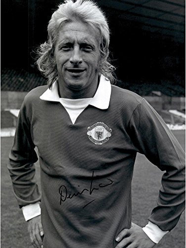 Denis Law Manchester United Autographed