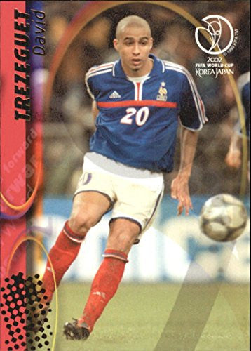 2002 Panini World Cup #63 David Trezeguet - NM-MT