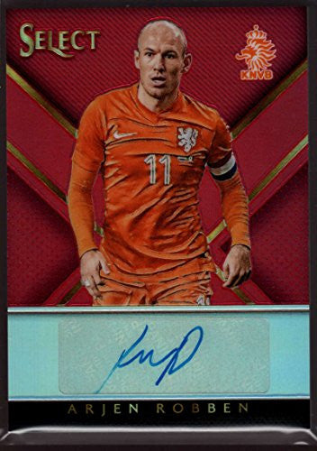Arjen Robben 2015 Panini Select Select Signatures Red #4 Mint