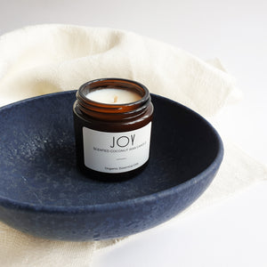 Joy - Coconut Wax Organic Oils Candle
