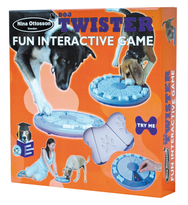 Nina Ottosson Plastic Dog Toy Twister