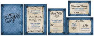 Graceful Goth Invitation Set