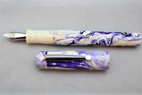 Ghost Koi Alumilite Custom Fountain Pen