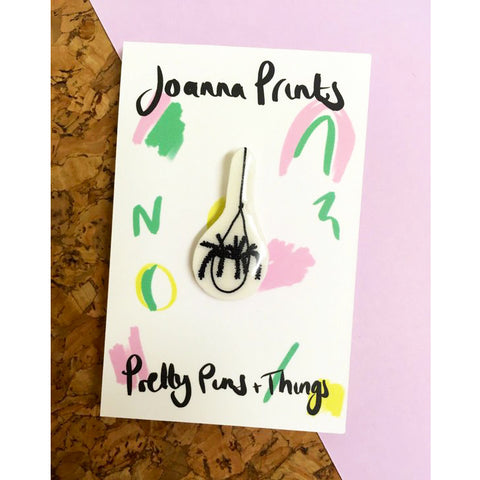 Hanging Plant Pin by Joanna Prints