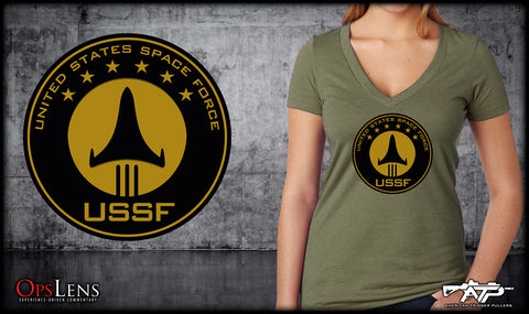 Space Force Ladies V-Neck