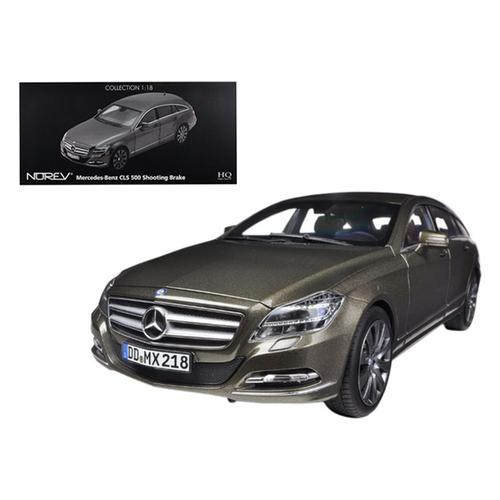 2012 Mercedes CLS 500 Wagon Shooting Brake Indium Grey 1/18 Diecast Car Model by Norev