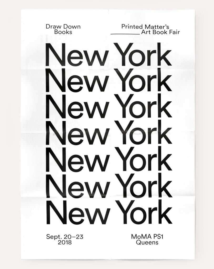 NY Art Book Fair Poster (2018)