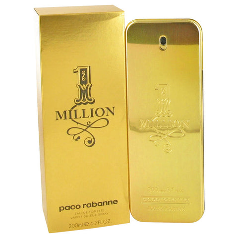 1 Million by Paco Rabanne Eau De Toilette Spray 6.7 oz for Men