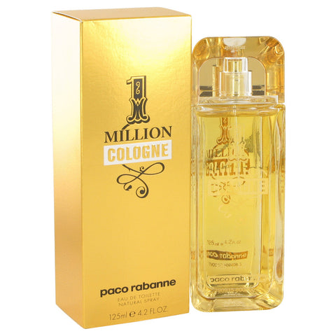 1 Million Cologne by Paco Rabanne Eau De Toilette Spray 4.2 oz for Men