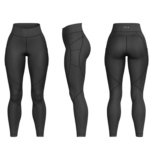 YTLA Leggings-Black