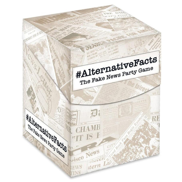 #AlternativeFacts: The Fake News Party Game