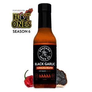 Bravado Black Garlic Carolina Reaper Hot Sauce