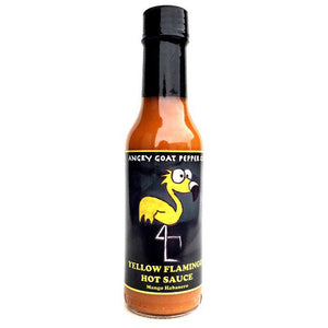 Angry Goat Yellow Flamingo Hot Sauce