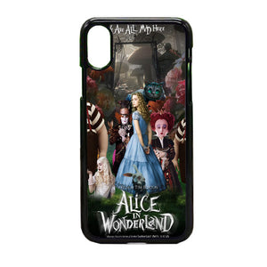 Alice In Wonderland Poster iPhone X Case | Frostedcase