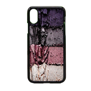 Eyeshadow Texture iPhone X Case | Frostedcase