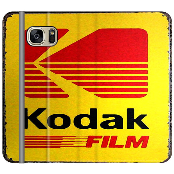 Kodak Film Coffee Vintage Samsung Galaxy S7 EDGE Flip Case | Frostedcase