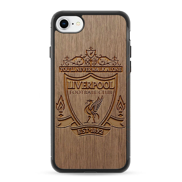 Liverpool Grafir Wooden iPhone 8 Case | Frostedcase