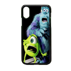 Mike Wazowski And Sulley iPhone X Case | Frostedcase