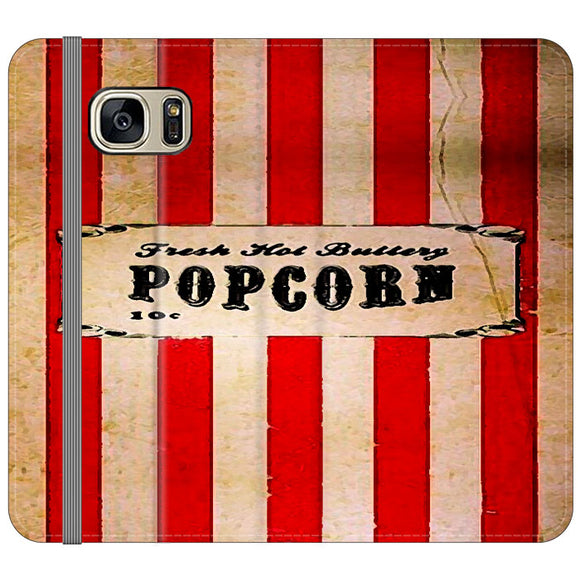 Popcorn Blazer Circus Packing Samsung Galaxy S7 EDGE Flip Case | Frostedcase