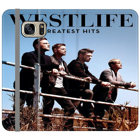 Westlife Greatest Hits 2011 Samsung Galaxy S7 EDGE Flip Case | Frostedcase