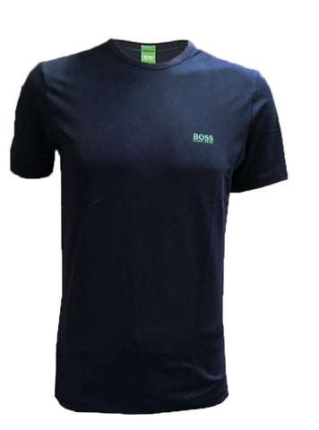 BOSS Green Regular-fit T-shirt with contrast detail