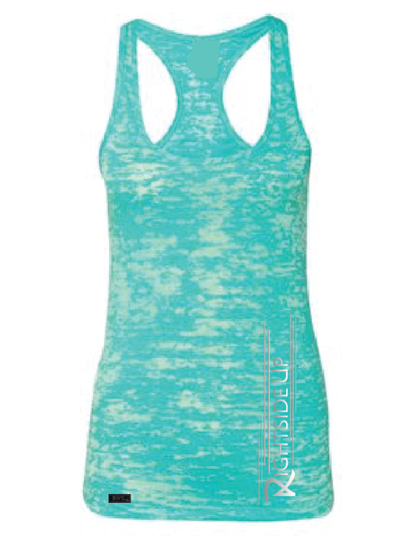 Women's Burnout Tank Top