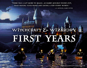 August's Limited Edition Box - Witchcraft & Wizardry: First Years