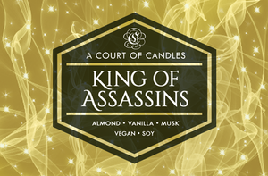 King of Assassins - Soy Candle