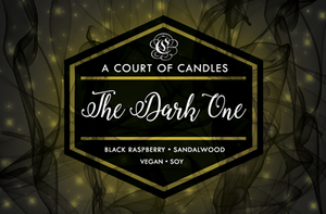 The Dark One - Soy Candle
