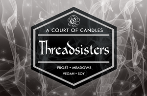 Threadsisters - Soy Candle