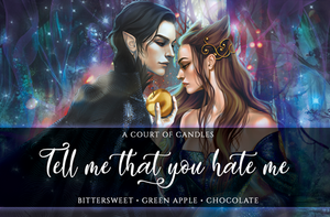 Tell Me That You Hate Me - Art Focused Design - Soy Candle