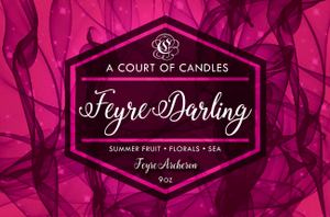 Feyre (10 Variations) - Soy Candle - Feyre Darling - 9Oz - Candles
