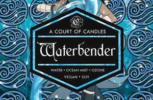Waterbender - Soy Candle - Candles