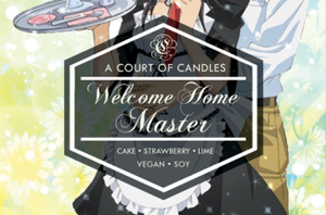 Welcome Home Master - Soy Candle - Candles
