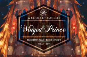 Winged Prince (Sartaq) - Soy Candle - 9Oz Glass