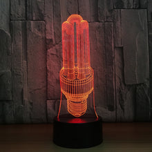Abstract Lamp 3D Optical Illusion Lamp - 3D Optical Lamp