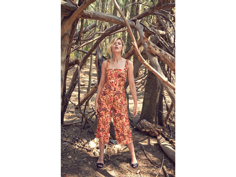 MLM LABEL HARLEM PANTSUIT RUSTIC JUNGLE