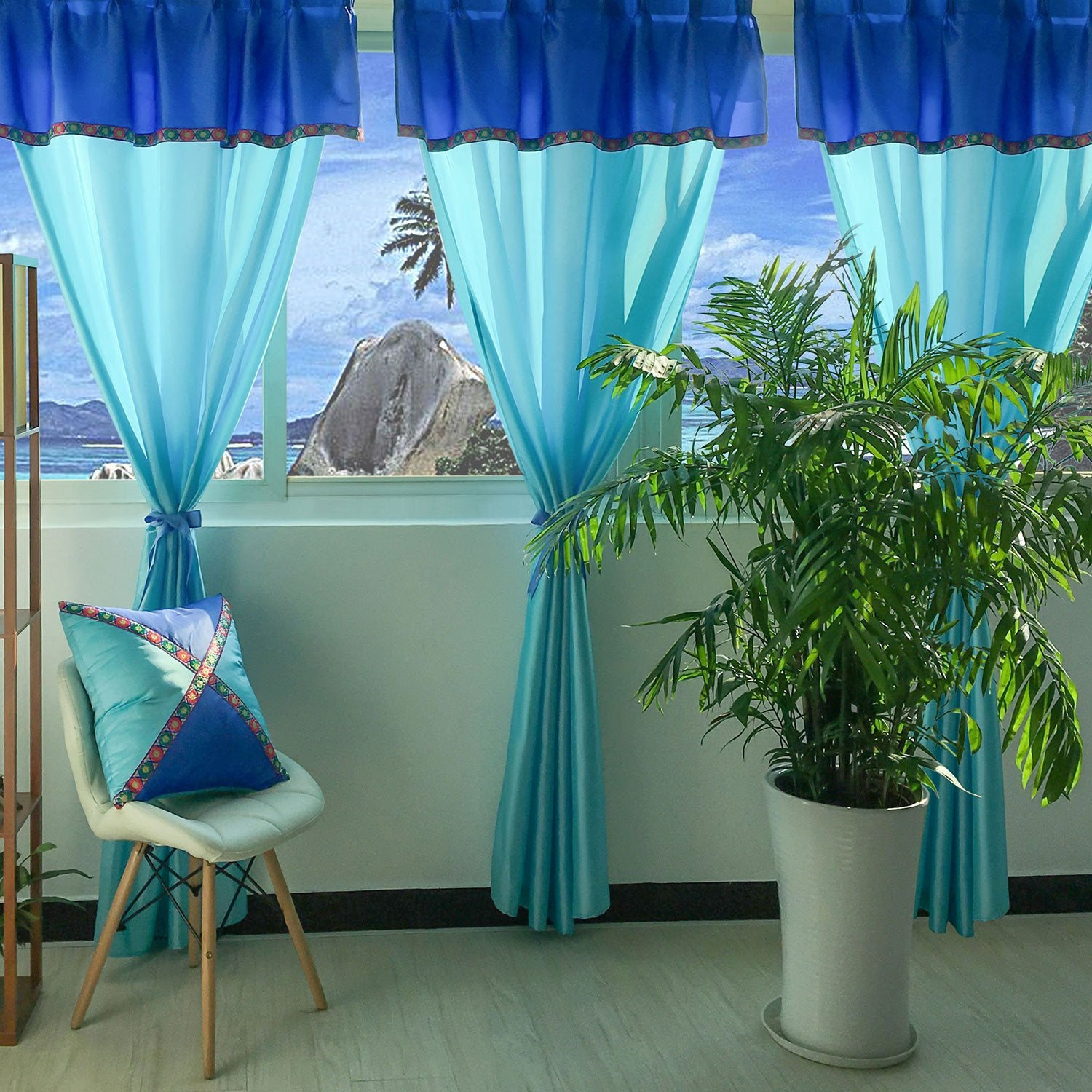 Ariel-Blue-Colour-Sheer-Curtains-Sydney