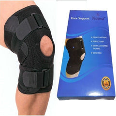 Knee Cap for Women and Men - Knee Support for Knee Pain Relief, Adjustable Knee Brace for Gym, Running, Sports and Pads for Daily Use (1 Piece)