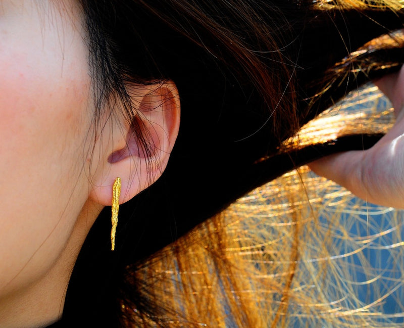 ILLUSION Stick studs - Gold
