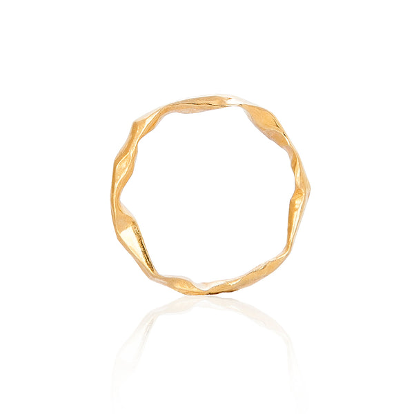 CRUSH Female Gold wedding band