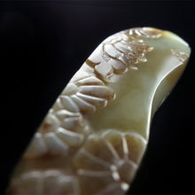 Natural jade carving nephrite collectibles Chinese Kunlun jade