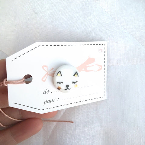 Simply Lovely porcelain pin with cute patterns .. pins en porcelaine Simply Lovely avec adorables motifs
