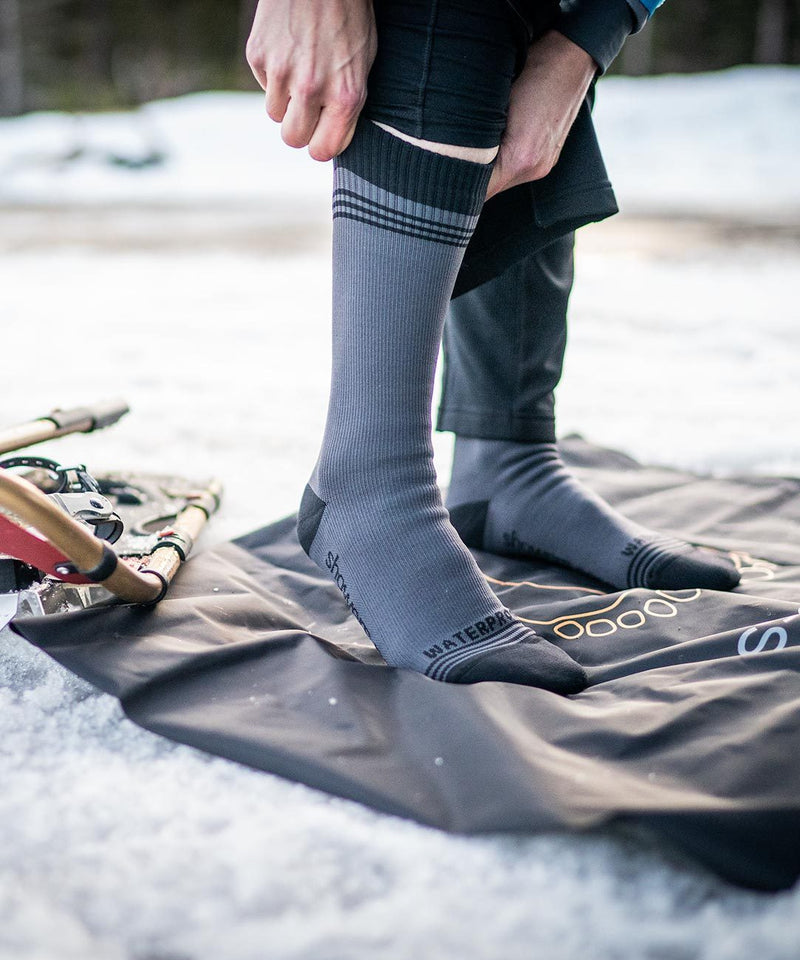 Crosspoint Waterproof Wool Crew Socks