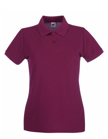 Premium Polo Lady-Fit farbig