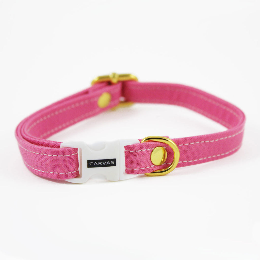 jelly pink cat collar